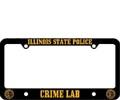 Crime Lab Plate Frame