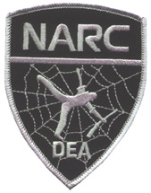 DEA Chicago Narcotics Patch